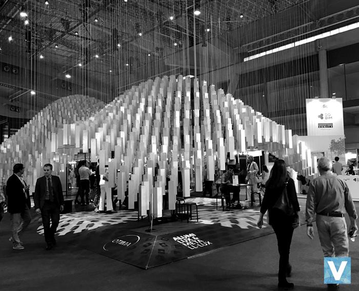 construmat 2017 alumilux metallux stand feria barcelona