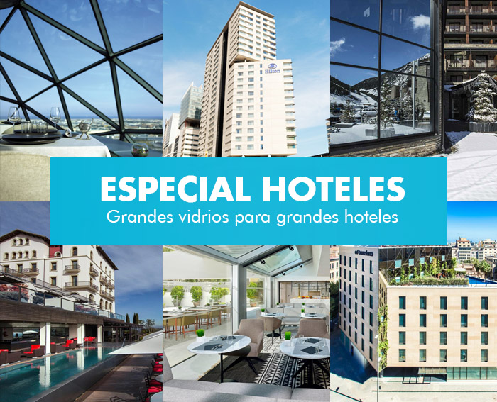 hoteles vidrios grandes dimensiones