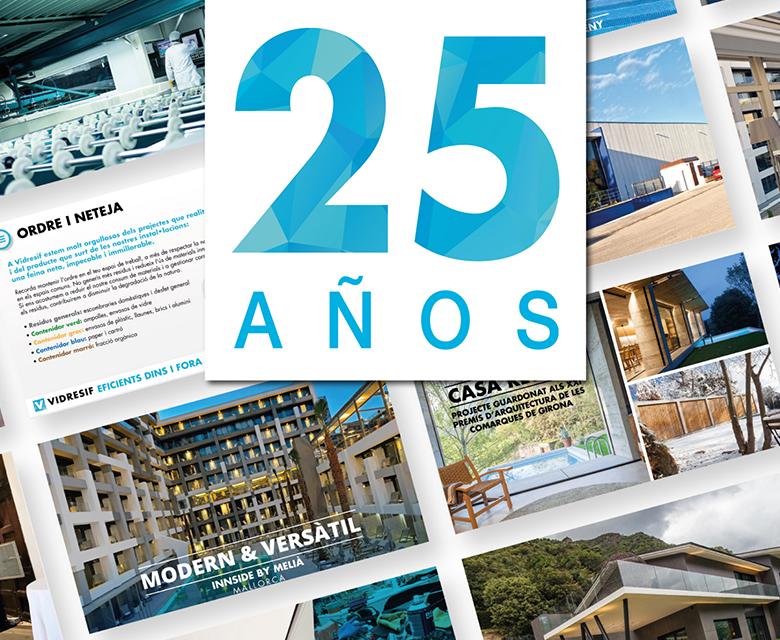 vidresif celebra los 25 años