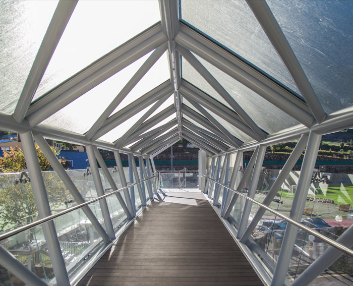 pont de vidre Andorra Vidresif Barcelo